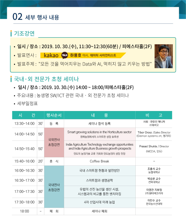 제5회 전북농생명 SW융합페어 및 국제교류행사